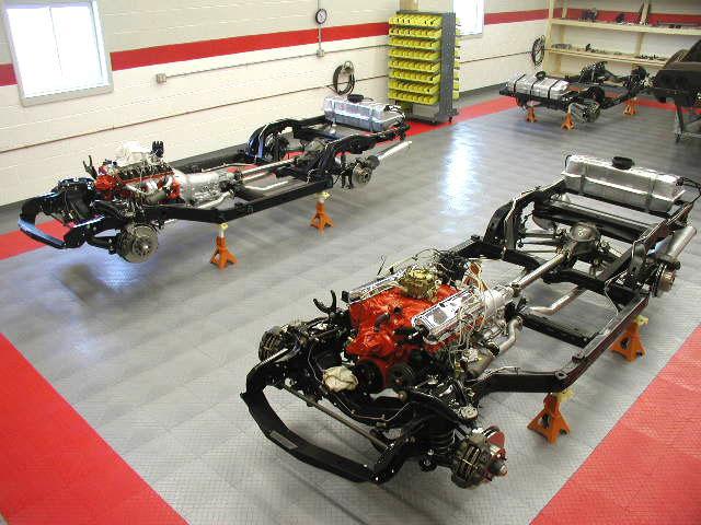 Corvette Restoration, Service and Repairs - Corvette Technicians